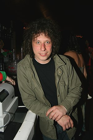 Stuart Cable - Cable at the Red Dragon FM Welsh Awards in 2007
