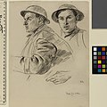 Studies of a Soldier Art.IWMART3998.jpg