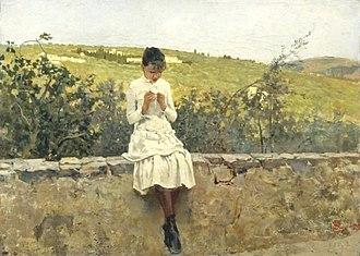Telemaco Signorini - Image: Sulle colline a Settignano