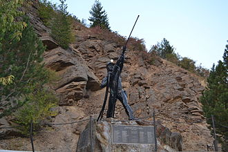 Sunshine Mine (Idaho) - Sunshine Miners Memorial