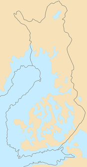Ancylus Lake around 8700 years BP. The relic of Scandinavian Glacier in white. The rivers Svea älv (Svea river) and Göta älv formed an outlet to the Atlantic.