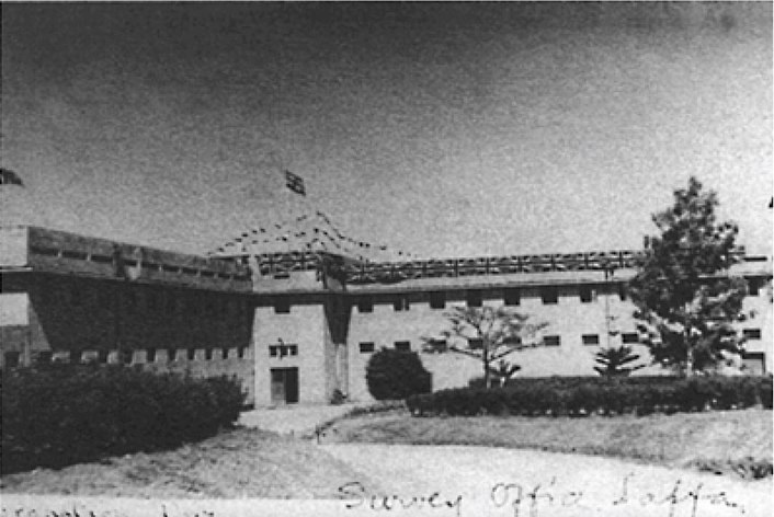 Survey of Israel building in 1930