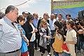 Susana Malcorra visita campo de refugiados sirios donde trabaja Cascos Blancos 04.jpg