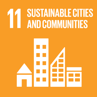 Sustainable Development Goal 11 The 11th of 17 Sustainable Development Goals for sustainable cities