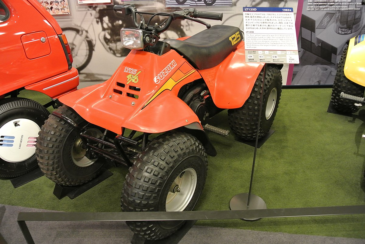 Suzuki  Atv Attachment