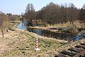 Svislach River Rzeka Świsłocz widziana z kolejowego mostu granicznego na linii 37.JPG