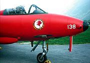 Swiss Air Force 2 Squadron Emblem inverted