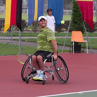 David Wagner (tennis) - Image: Swiss Open Geneva 20140712 Semi final Quad D. Wagner vs D. Alcott 21
