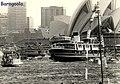 Sydney ferry BARAGOOLA at the opening of the Sydney Opera House 20 October 1973.jpg