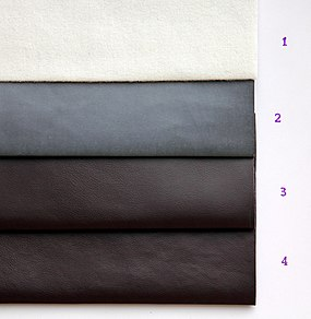 What Is Leather Made Of >> Artificial Leather Simple English Wikipedia The Free Encyclopedia