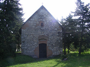 Tököl - The Chapel of St Anna