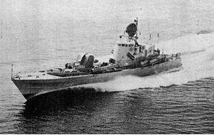 HSwMS Spica (T121) - Image: T121 Spica
