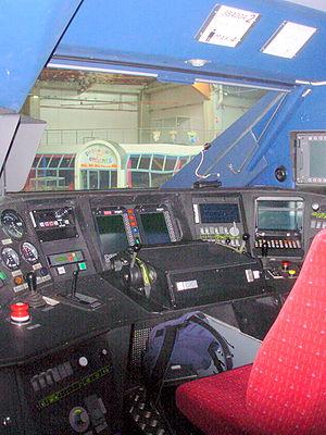 TGV - A TGV driver's cab