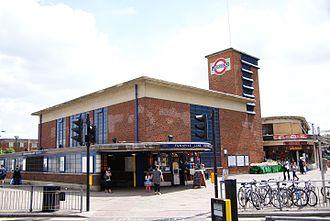 Turnpike Lane tube station - Image: TURNPIKE LANE 06 240710 CPS (4837121901)