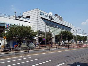 TWR Shinonome-station east.jpg