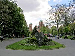 Bulevar kralja Aleksandra - Tašmajdan park.