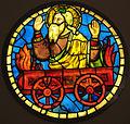 Taddeo gaddi, elia sul carro di fuoco, 1320-40 ca..JPG