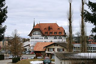 Place in Fribourg, Switzerland