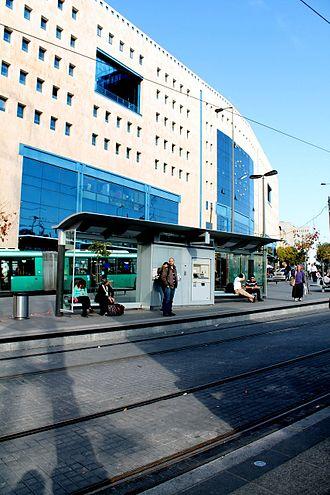 Jerusalem Central Bus Station - The Jerusalem Central Bus Station