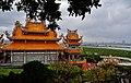 Taipeh Guandu Temple Haupthalle Rückseite 2.jpg