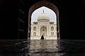Taj Mahal seen from the east side.jpg