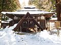 Takayama Hie Shrine Haiden with Snow.jpg