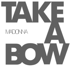 Logo del disco Take a Bow