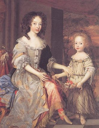 John Michael Wright - The Ladies Catherine and Charlotte Talbot (1679), Tate Collection