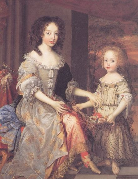 Katherine and Charlotte, Talbot's daughters by his first wife. Talbot-wright.jpg