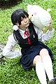 Tamako Kitashirakawa from Tamako Market cosplayer 20140802.jpg