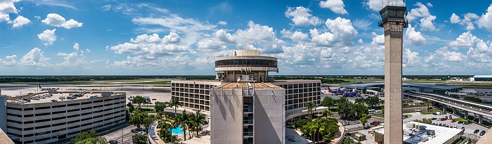 Tampa International Airport panorama