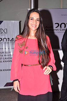 Tara Sharma at art exhibition 'Passages'.jpg