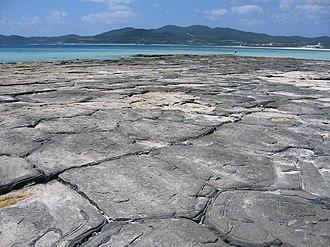 Kumejima, Okinawa - Image: Tatami ishi
