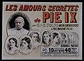 Taxil, Les amours secrètes de Pie IX, affiche.jpg
