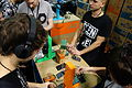 Teenage Engineering Pocket Operators - trial playing 1 - 2015 NAMM Show.jpg