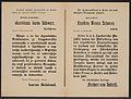 Telegramm an den Landespräsidenten in Krain - Kundmachung - Laibach - Mehrsprachiges Plakat 1914.jpg