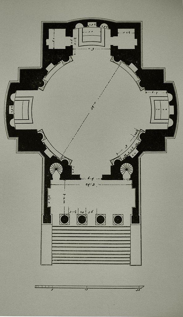 Plan De La Villa Barbaro
