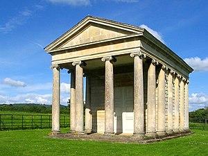 Goathurst - Image: Temple of Harmony, Goathurst, Somerset geograph.org.uk 920680