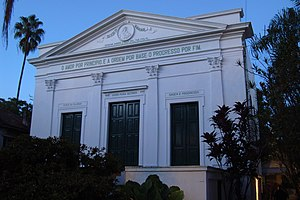 History of sociology - The Positivist temple in Porto Alegre