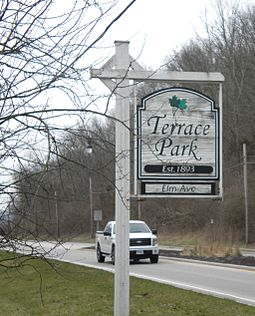 Throughout his career, Portman and his family have resided in Terrace Park, Ohio TerraceParkSign.JPG