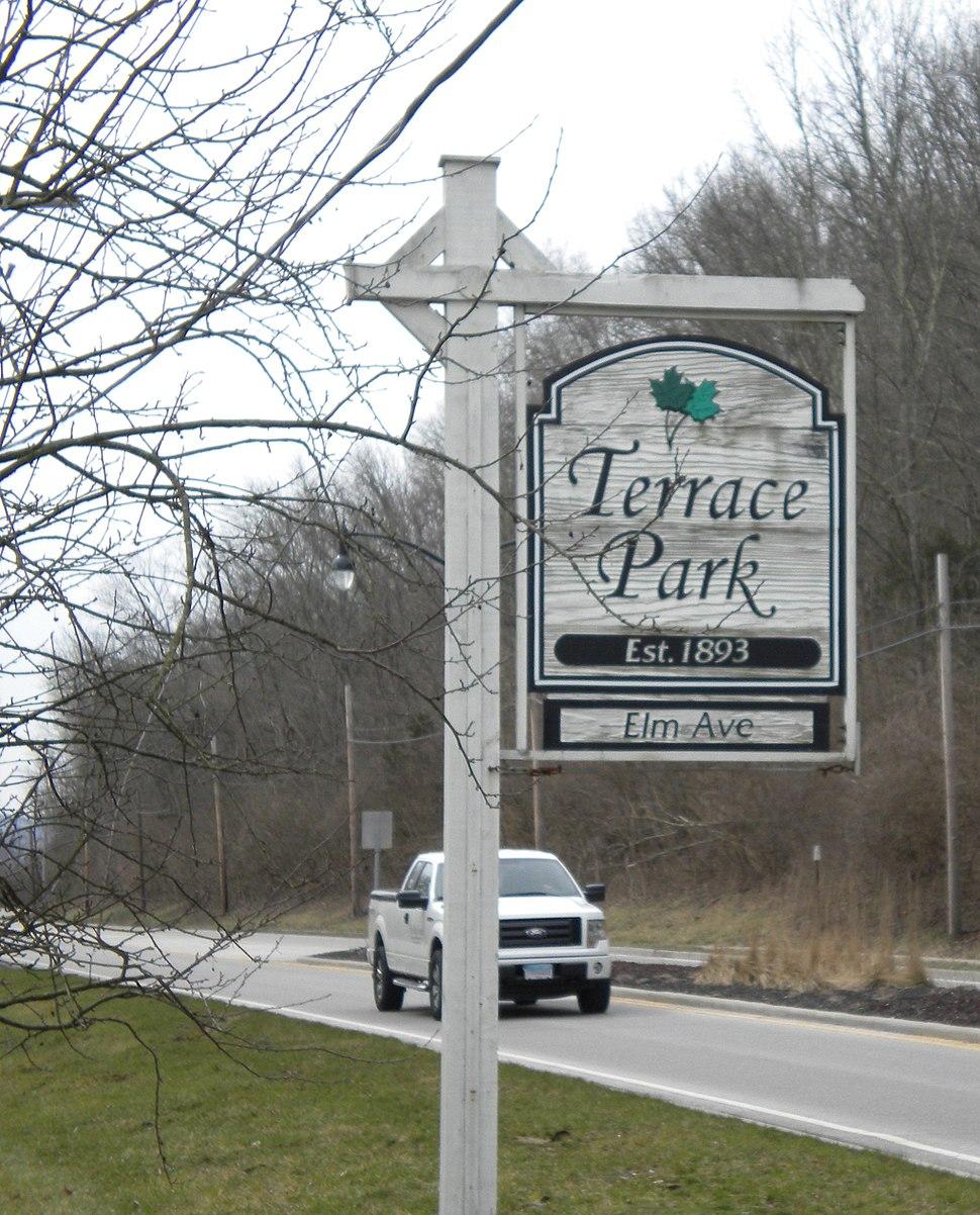 TerraceParkSign