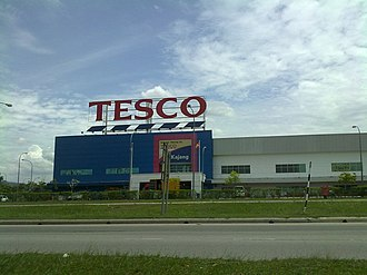 Kajang - Tesco Kajang is at Saujana Impian area in Kajang