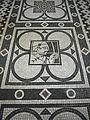 Testaccio - s M Liberatrice mosaico zodiacale Sagittario 1180509.JPG