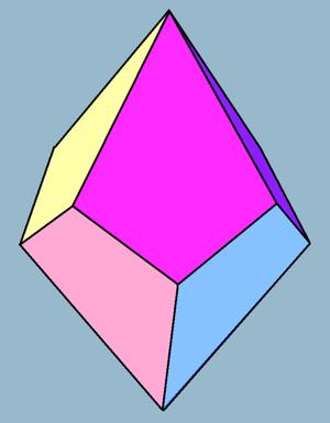 Tetragonal trapezohedron - Tetragonal trapezohedron