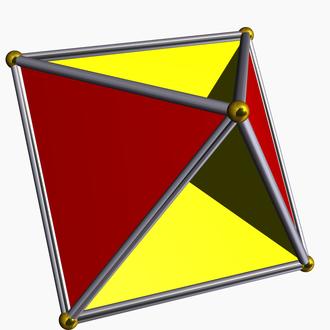 Hemipolyhedron - Image: Tetrahemihexahedron