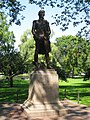 Thaddeus Kosciuszko sculpture in Boston Public Garden - general view.JPG