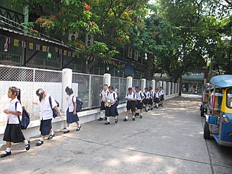 Education in Thailand - Elementary school students, Thailand