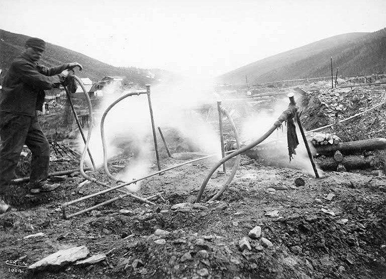 Thawing-eldorado-creek-1898