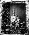 The 1st King of Siam, King Mongkut, in state robes, Bangkok Wellcome L0020136.jpg