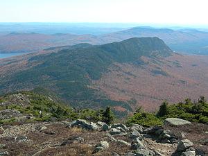 Mount Bigelow (Maine) - Image: The Bigelows Little Bigelow Mt Maine